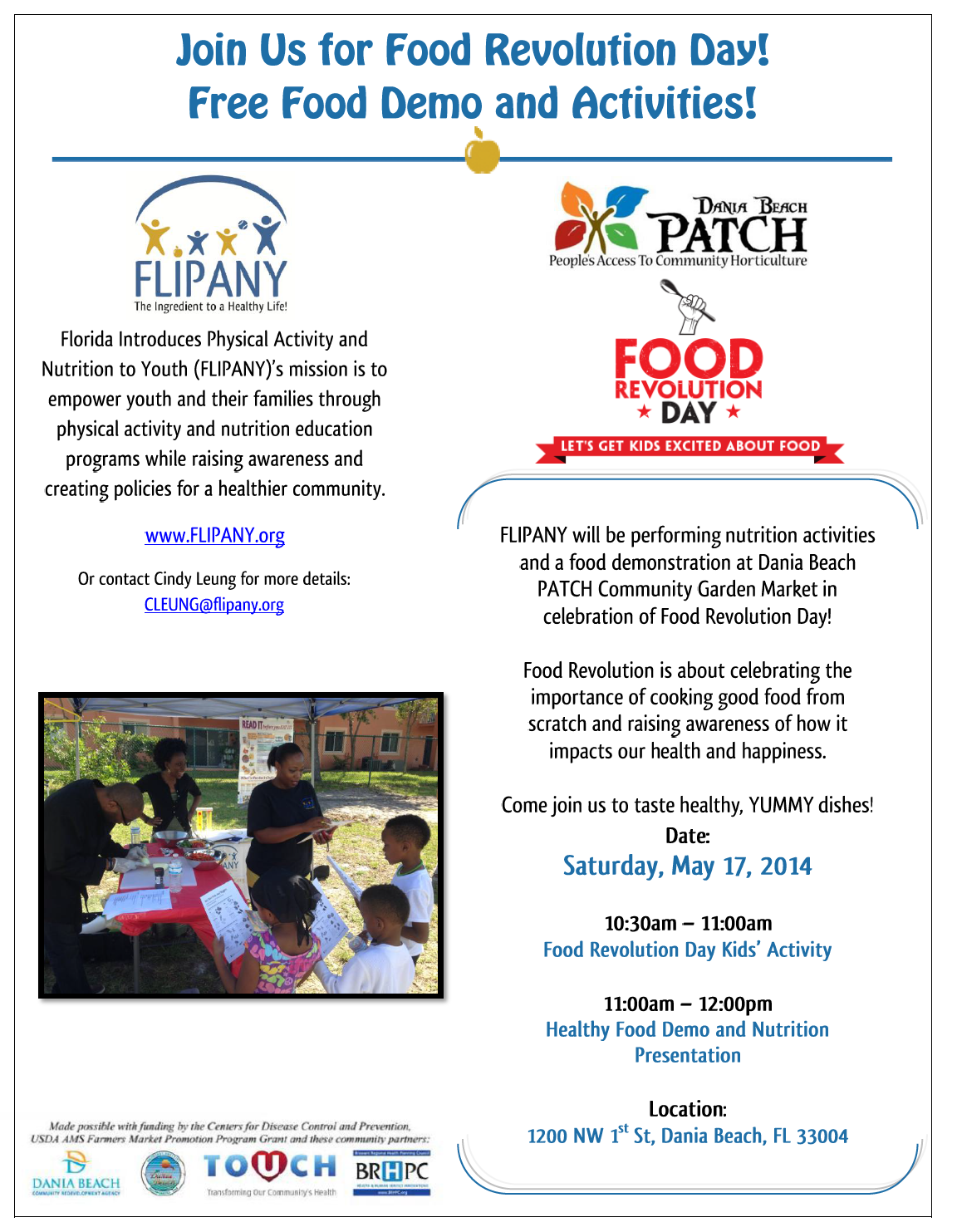 Healthy Food Demo at the PATCH Garden Market! @ PATCH Garden Market | Dania Beach | Florida | United States